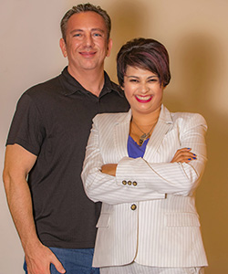 Angelique and John Luna